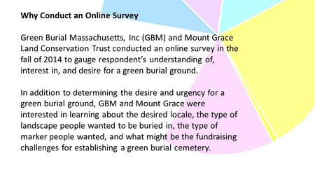 Survey Results - Green Burial Massachusetts